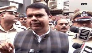 Maharashtra CM Devendra Fadnavis reaches Kamala Mills to take stock of situation