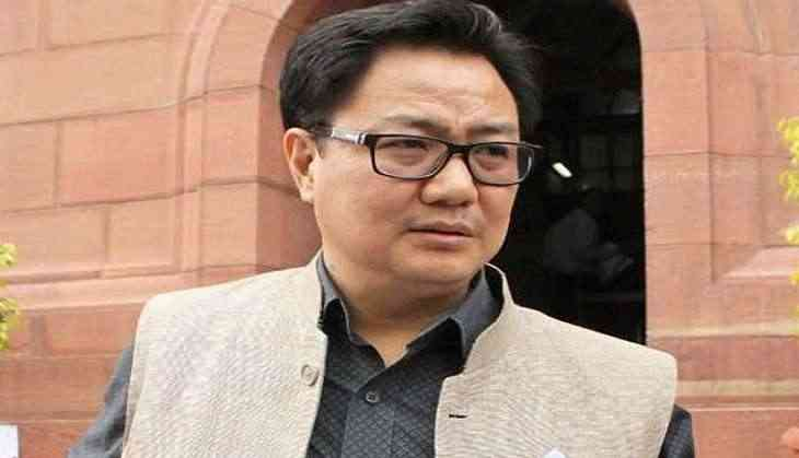 Youngsters in Jammu and Kashmir want to take part in sports, says Kiren Rijiju