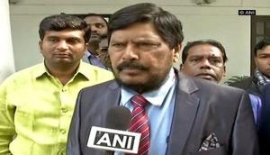 Might be difficult for Mamata Banerjee, Chandrababu Naidu to face PM Modi: Ramdas Athawale