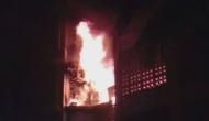 Seven shops gutted in Mumbai's fire