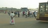 Bus strike continues for third day in Tamil Nadu