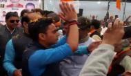 भाजपा नेता ने दी ज्योतिरादित्य सिंधिया को जुबान काटने की धमकी