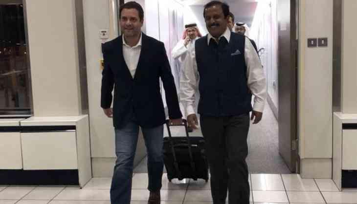 BJP slams Rahul's irresponsible utterance in Bahrain: Ravi Shankar Prasad