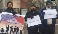 Kulbhushan Jadhav row: Chappal Chor Pakistan protest in US