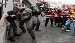 Israel detains 17 Palestinian citizens