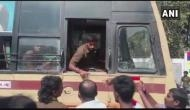 TN bus strike: Untrained driver rams bus into roundabout