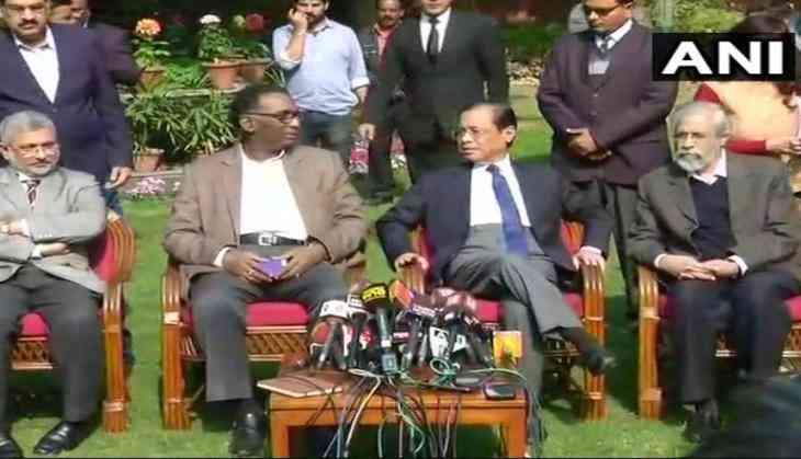 Chelameswar's residence, likely to break differences against J Deepak Mishra