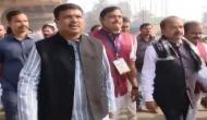 Dharmendra Pradhan joins Jain Guru on 'Ahinsa Yatra'