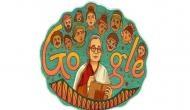 गूगल ने डूडल बनाकर दिया महाश्वेता देवी को सम्मान
