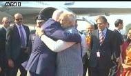 इजरायली पीएम नेतान्याहू पहुंचे दिल्ली, पीएम मोदी ने गले लगाकर किया 'वेलकम'