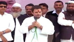 Rahul Gandhi criticises PM Modi, hails Chinese govt