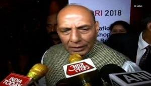 HM Rajnath Singh congratulates security forces on Uri operation