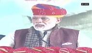 Congress, drought go hand in hand, says PM Modi