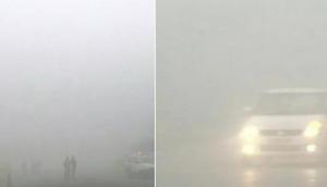 Heavy fog in Punjab and Haryana