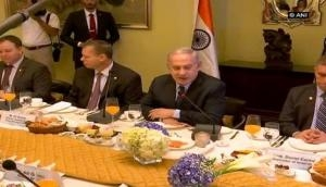 Israeli PM Benjamin Netanyahu meets biz leaders over power breakfast in Mumbai