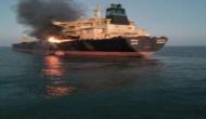 MT Genessa oil tanker: India Coast Guard fire fight on