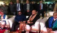 Delhi CM Kejriwal atttends dinner party with FM Arun Jaitley