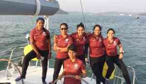 The clarion at Cape Horn: The arrival of Indian women sailors!