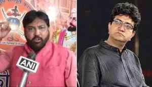 Now the 'Padmaavat' tangle reaches out to Jaipur Lit Fest:  Karni Sena threatens to stop Prasoon Joshi from attending