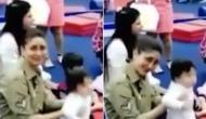 VIDEO: 'छोटे नवाब' की बड़ी हरकतें, परेशान हुईं मां