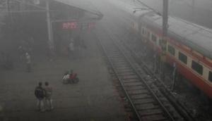 Dense fog affects train services in Delhi