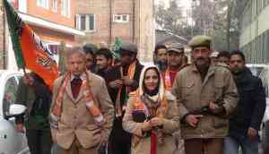 Meet the saffron women trying to spread BJP's message in the Valley