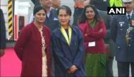 ASEAN-India Summit: Aung San Suu Kyi arrives in Delhi