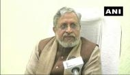 Opposition scared of PM, says Sushil Modi