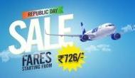 रिपब्लिक डे पर ये कंपनी मात्र 726 रुपये में करवा रही है हवाई यात्रा, ऑफर सीमित समय तक