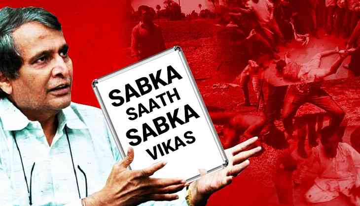 Suresh Prabhu's comments at Davos show BJP is proud of marginalising minorities