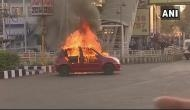 Padmaavat vandalism: Two arrested for torching vehicle in Bhopal