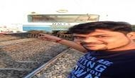 Selfie goes wrong! Hyderabad man hit by a train; video goes viral