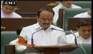 Telangana Finance Minister Etela Rajender discusses Budget proposals