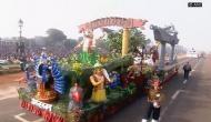 India's diversity displayed at R-Day parade