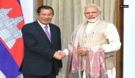 PM Modi meets Cambodian counterpart