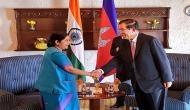 Sushma Swaraj, Cambodian PM hold bilateral talks