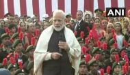 PM Modi urges to fulfil Gandhi's dream of clean India