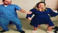 डिलीवरी कराने के लिए इस डॉक्टर ने अपनाई अनोखी ट्रिक, वीडियो वायरल