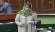 Positive changes witnessed in Kashmir: Mehbooba
