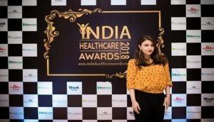 Soha Ali Khan felicitates healthcare professionals