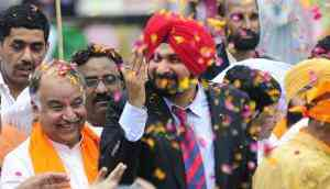 Sherry in a corner: How Navjot Sidhu stands isolated in Punjab politics
