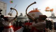 Third indigenous Scorpene submarine launched