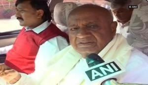 Karnataka Election Results: Congress and JDS to join hands to stop BJP, Devegowda's son HD Kumaraswamy to be next CM