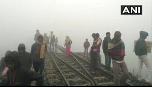 Bihar : Four died after being run over by train