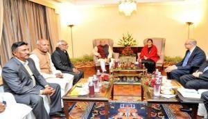Sushma Swaraj Congratulates Nepal over successful elections