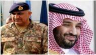 Pak Army Chief calls on Saudi crown prince