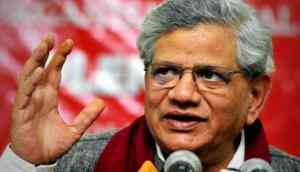 Yechury demands a ban on corporate donations to political parties