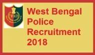 West Bengal Police Recruitment 2018:2550 पदों के लिए आवेदन करने की आखिरी तारीख