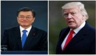 Trump, Moon agree to address human rights abuses in N Korea