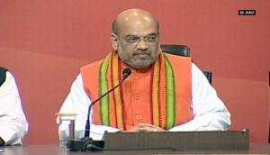 Amit Shah tears into Congress in RS maiden speech